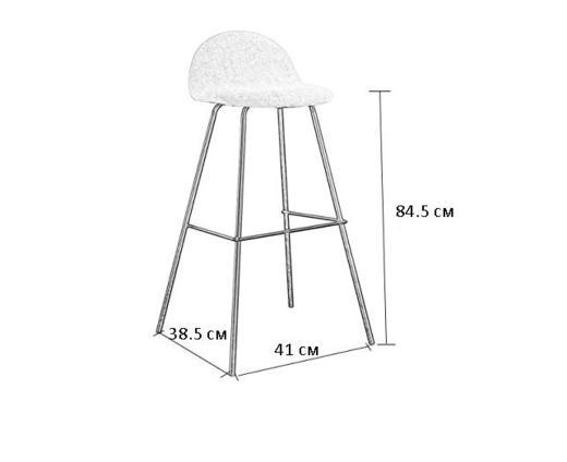 Комплект бар столове Italian Concept 164 2 броя ви