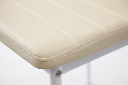 Трапезен стол Suarez Avat C319-BP комплект 4 броя бели